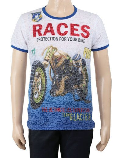 This T-shirt will be your champ's favourite Tee to wear on casual parties. Product code - G3-BTS0723 Price - INR 680/-