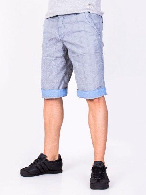Pantaloni scurti barbati Popular Co. albastri caro