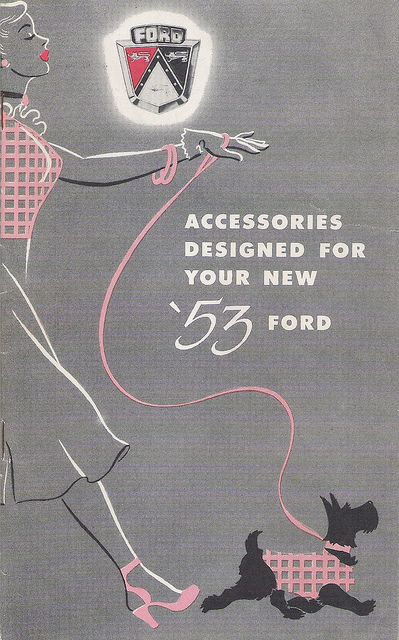 FORD Accessories Car Dealer Booklet (USA 1953)_01 | Flickr - Photo Sharing!
