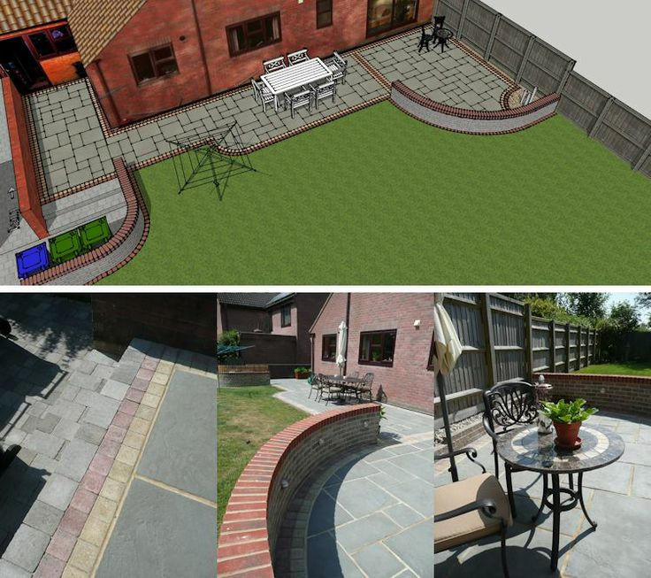 New Designs In Sketchup: 75 Best Images About Computer Aided Garden And Landscape