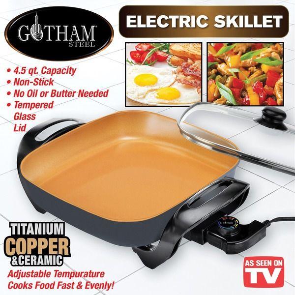 Gotham Steel Electric Skillet In 2018 Kitchen Pinterest Gotham