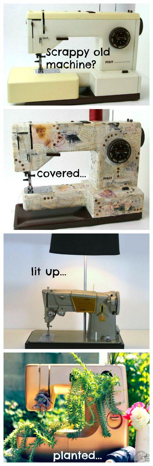 Die 50+ besten Bilder zu Sewing machines von farbenmix auf Pinterest ...