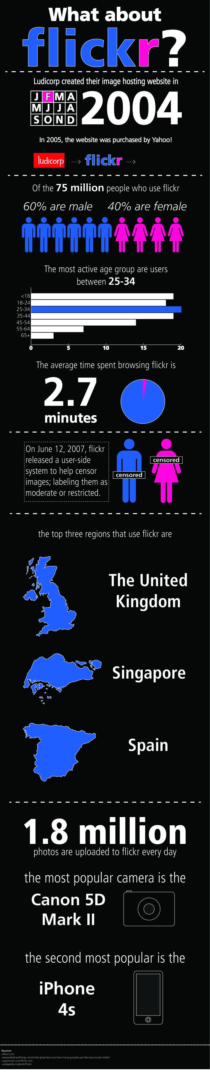 infografía flikr