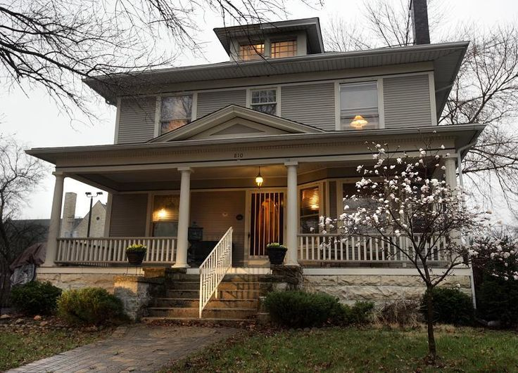 American Foursquare House: American Foursquare House Plans, See ...