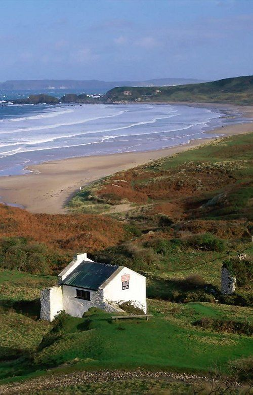 White Park Bay, Ireland.