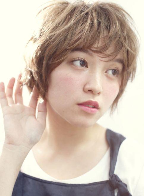 グレージュショート【DECO】http://beautynavi.woman.excite.co.jp/style/detail/52995?pint≪ #shorthair #shortstyle #shorthairstyle #hairstyle・ショート・ヘアスタイル・髪形・髪型≫