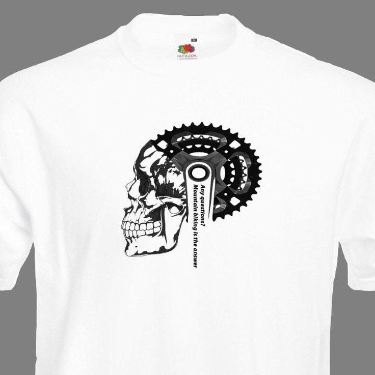 Ciclismo T-Shirt Mountain Bike T Shirt biciclette T Camicia