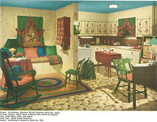 1940s decor — 32 pages of designs and ideas from 1944