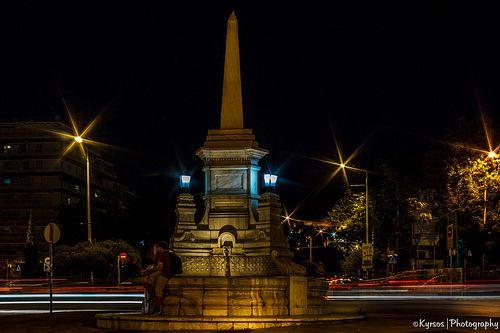 ● Sintrivaniou Square, Thessaloniki, Greece. Nightshot   ● Πλατεία Συντριβανίου Θεσσαλονίκη, Ελλάδα.  ● #thessaloniki #greece #night #photography #macedonia #θεσσαλονικη #φωτογραφία #μακεδονια #ελλαδα
