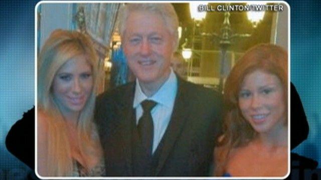 Bill Clinton Poses With Porn Stars - ABC News
