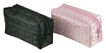 Mopec A8013 - Monedero con cremallera surtido en color rosa y negro, pack de 6 unidades