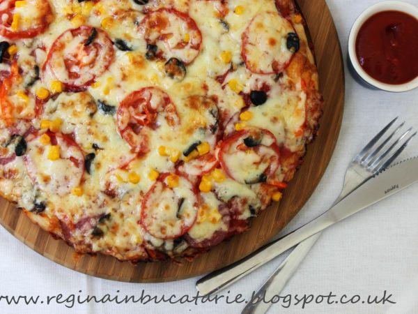 Rețetă Pizza de casa, de Cdeeaa - Petitchef