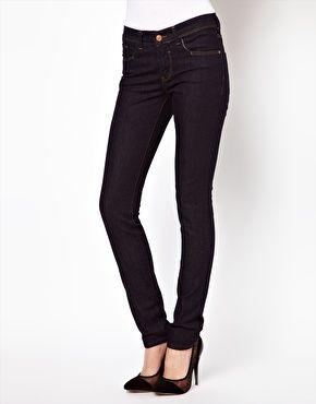 ASOS Supersoft Skinny Jeans in Indigo