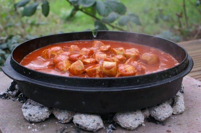 Rezept für super Currywurst und leckere Currysauce