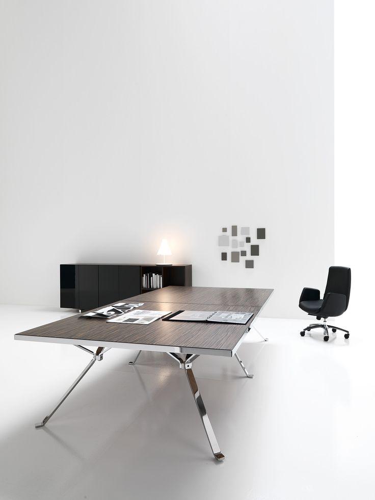 Havic Kantoormeubelen - kantoorinrichting - modern - design kantoormeubelen  - black - executive desk