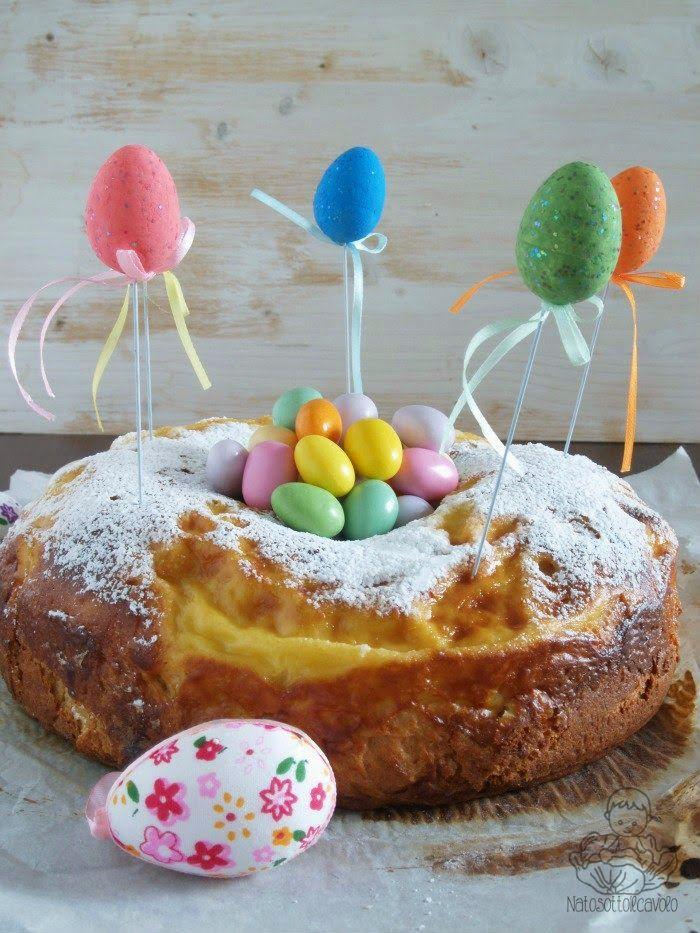 natosottoilcavolo: Ciambella di Pasqua