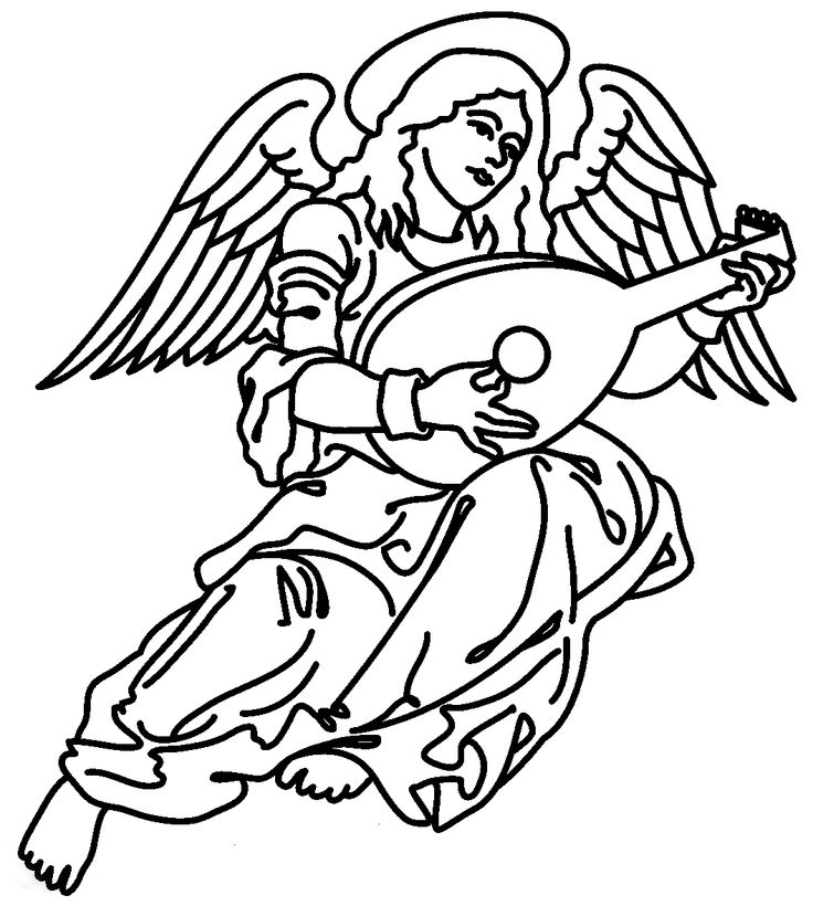 christmas symbols coloring pages - photo#12
