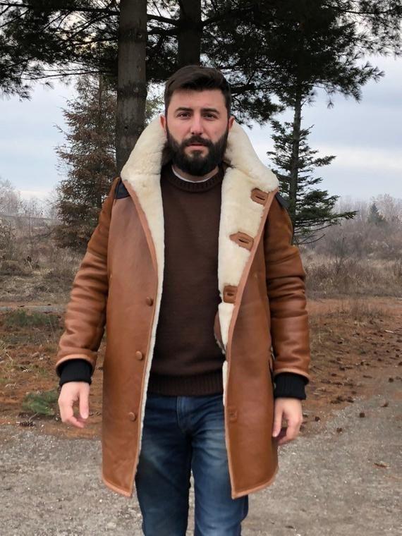 Lammfell mantel
