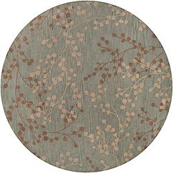 @Overstock - This Blossom blue rug is constructed of hand-tufted wool in a beautiful floral pattern. The rug is a larger size and would be a wonderful accent to any decor. http://www.overstock.com/Home-Garden/Hand-tufted-Blossom-Blue-Wool-Rug-8-x-8/6458259/product.html?CID=214117 $228.64
