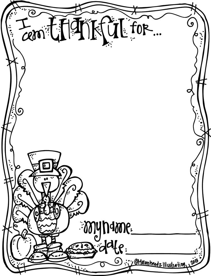 i am thankful for my home coloring page thanksgiving coloring freebie - Language Arts Coloring Pages