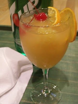 Whiskey slush recipe great for large get-togethers.... Make and freeze ahead