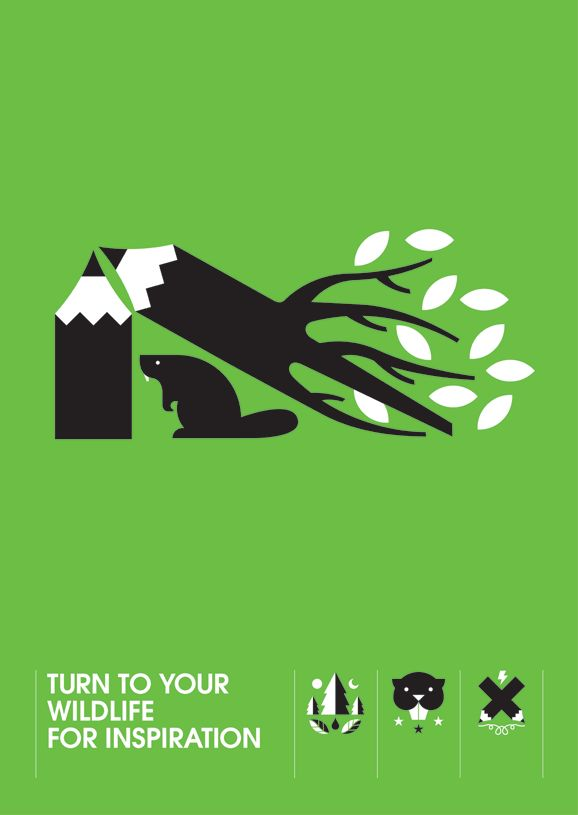This simple small detailed image on a poster brings a big message and gets its point across. This inspires and poster out comes that could be produces based on pesticides.