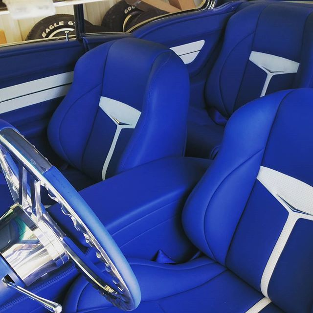 instagram post by blake byers blairs garage blue interiors chevy and bel air. Black Bedroom Furniture Sets. Home Design Ideas