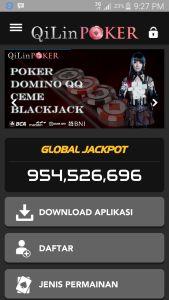 CARA DOWNLOAD APLIKASI POKER ANDROID QILINPOKER.COM  Sebelumnya silakan daftar dulu di  QilinPoker.com Agen Judi Poker Online Indonesia  . Setelah itu silakan login dengan tampilan mobile dari Android Anda di  QilinPoker.com  BANDAR  Poker Online Indonesia  . Berikutnya silakan ikuti langkah-langkah berikut :  KLIK DOWNLOAD APLIKASI Setelah Aplikasi Terdownload, Ubah Settingan Blockednya. Klik SETTING. Setelah Download Selesai, Maka silakan langsung OPEN application. Aplikasi sudah siap…