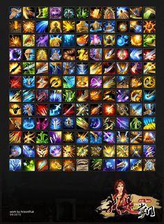 skill icons by ansonruk