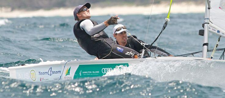 Gold Coast Summer Sailing #Aus11 @Ronstan @Nautica @Audi Australia #AustralianSailing #Zhik #TeamAbeam #2XU #MatBelcher #WillRyan