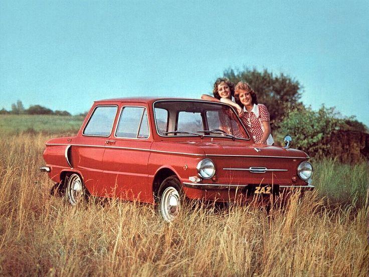 Advertising posters of Soviet cars ZAZ - 05