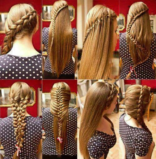 Cool 1000 Images About Braids On Pinterest Different Braids Braided Hairstyles For Women Draintrainus