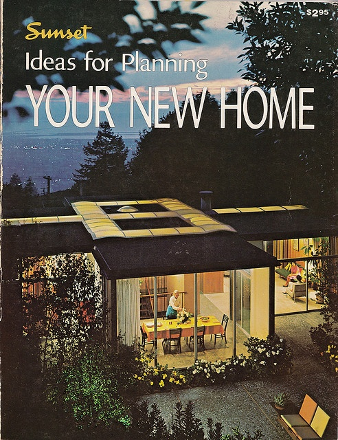1379 best mid century architecture images on pinterest for Sunset magazine house plans