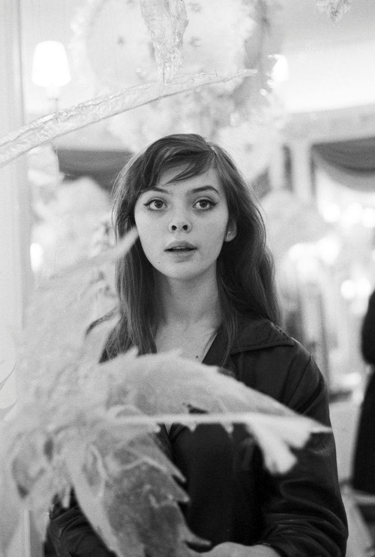 Barbara Kwiatkowska-Lass photographed by Jack Garofalo, Paris 1959