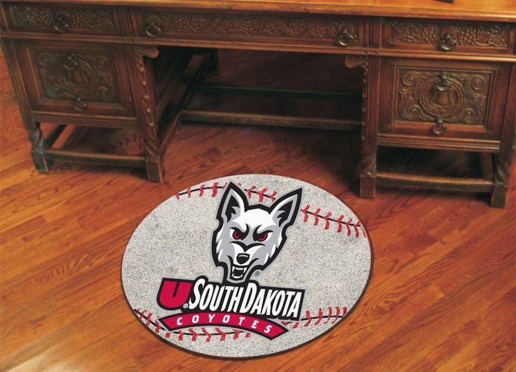Let everyone know which College team reigns supreme when guests enter your home. Put your loyalty in plain view with this University of South Dakota Baseball Mat by Fanmats. The nylon mat is chromojet