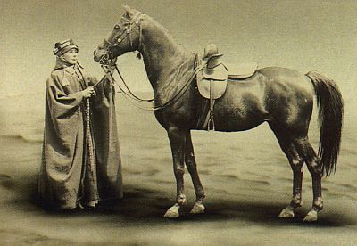 The Crabbet Park Stud in England was established by Lady Anne (pictured) and Sir Wilfred Blunt in 1879, and is considered the first major European stud for Arabian horses. #ArabianHorses #History
