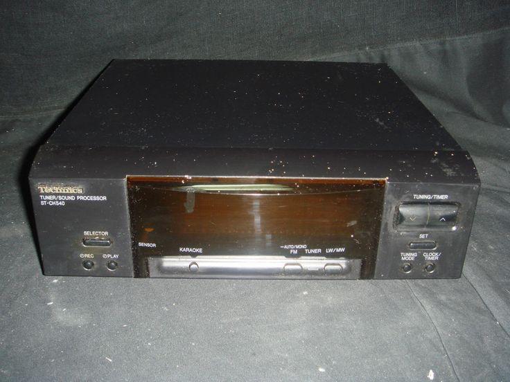 Sintonizador Radio AM / Fm - Modulo de Cadena de Musica - Technics ST-CH540
