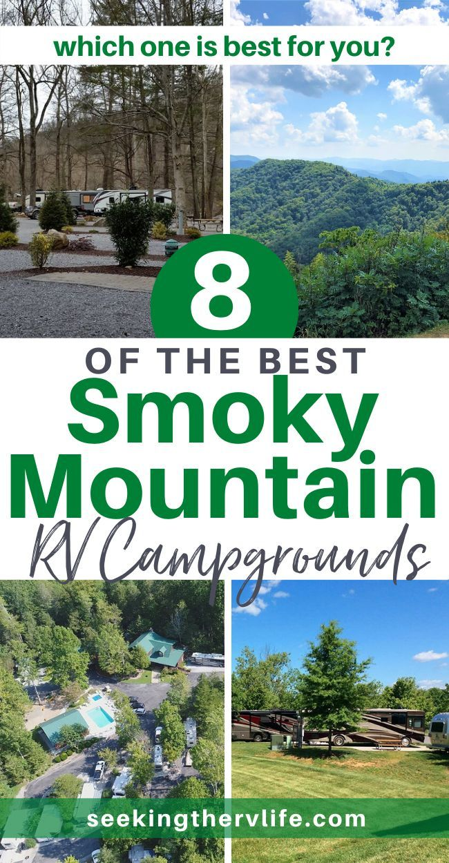 Rv Camping 8 Best Rv Campgrounds In The Smoky Mountains In 2020 Rv Parks And Campgrounds Rv Campgrounds Best Rv Parks