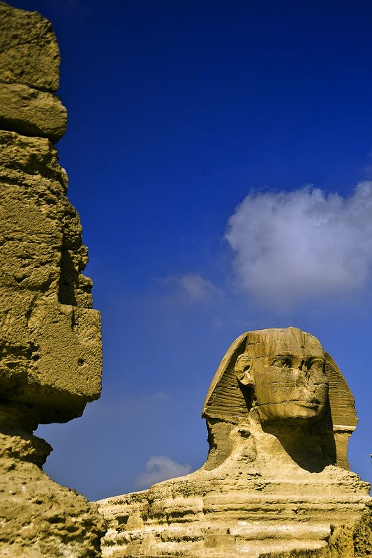 The Sphinx - Giza, Cairo  I have always wanted to go to Egypt