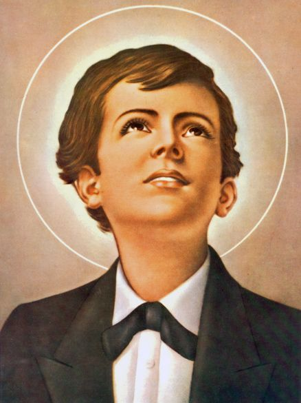 St. Dominic Savio ... Patron saint of  	choirboys and juvenile delinquents.