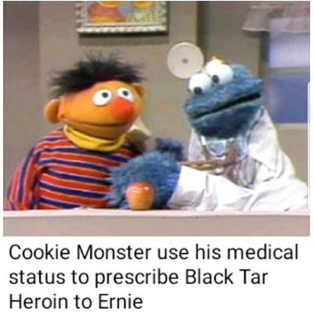 Pin On Sesame Street Memes