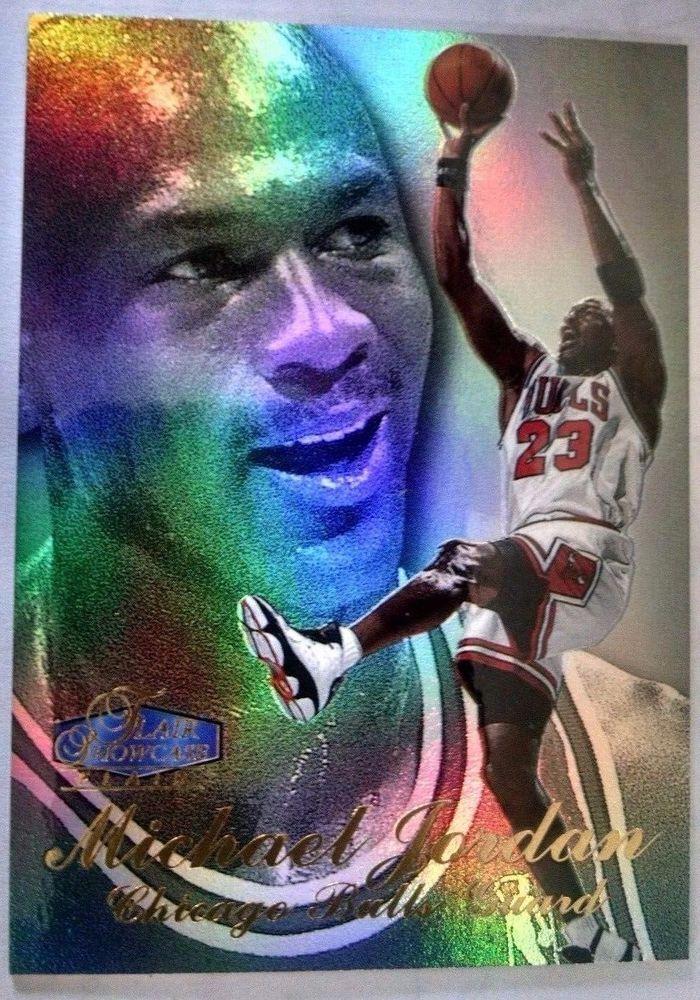 1997-98 Flair Showcase Row 3 #1 Michael Jordan Basketball #ChicagoBulls