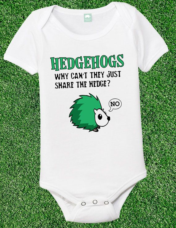 Hedgehogs Why Can't They Just Share funny by FunhouseTshirts, $12.99