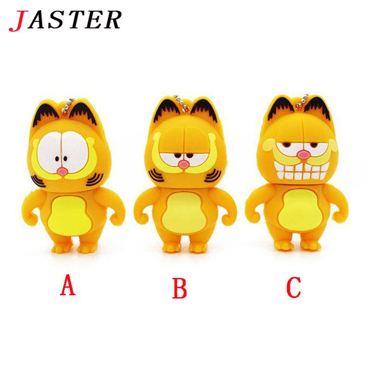JASTER Garfield USB Flash Drive 3 styles cat pen drive 4gb 8gb 16gb 32gb pendrives animal memory stick usb creativo gift //Price: $9.95     #nerd