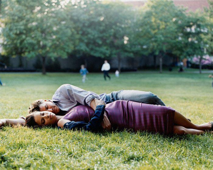 Adriana Lima and David Boreanaz by Pamela Hanson
