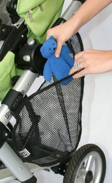 Amazon.com : J.L. Childress Side Sling Stroller Cargo Net, Black : Baby Stroller Accessories : Baby