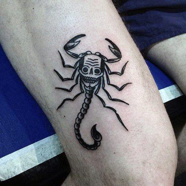 Traditional Mortal Kombat Tattoo