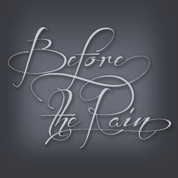 Free wedding fonts - Before the Rain is a great free script font