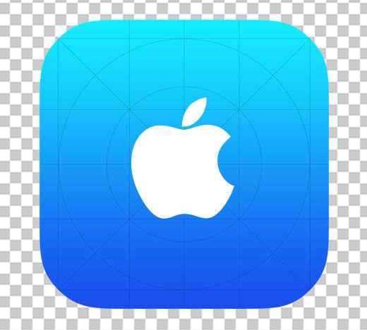 app icon template is a free photoshop resource that makes it