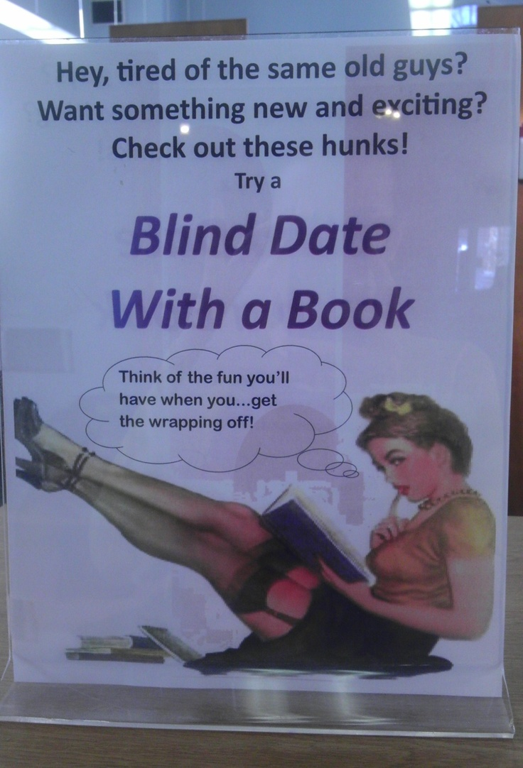 Blind Date With a Book @ MCPL.